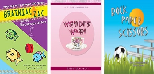 Debby's books in banner