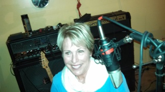 Lynne Spreen at radio interview