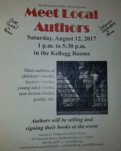 Meet the Authors Aug 12