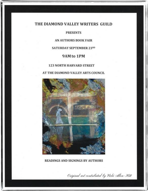 Events Calendar | Diamond Valley Writers' Guild