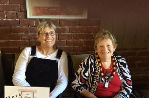 Rose Baldwin and Judy Fabris