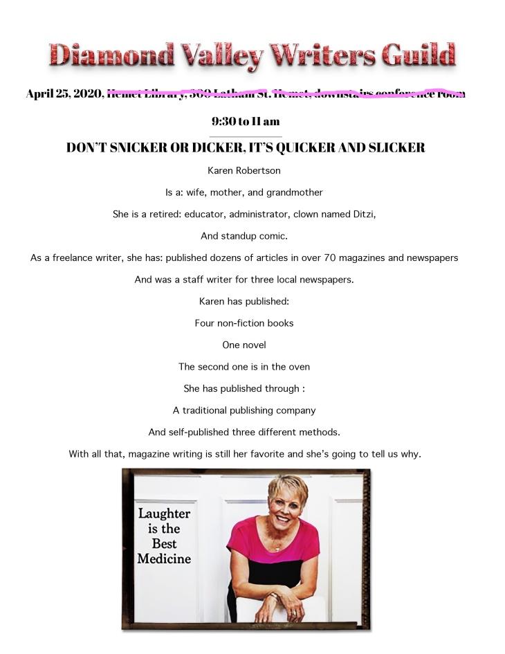 Karen April updated